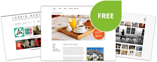 Free InstantPro Homepage with every domain - replace your boring holding page in minutes!
